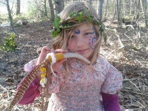 Holding sacred space with children