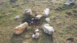 Medicine wheel at the Eartheart.....Ceremonies come from the open centre